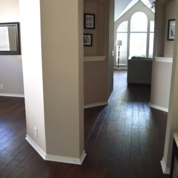Hardwood Floors, Our First Home Renovation Project