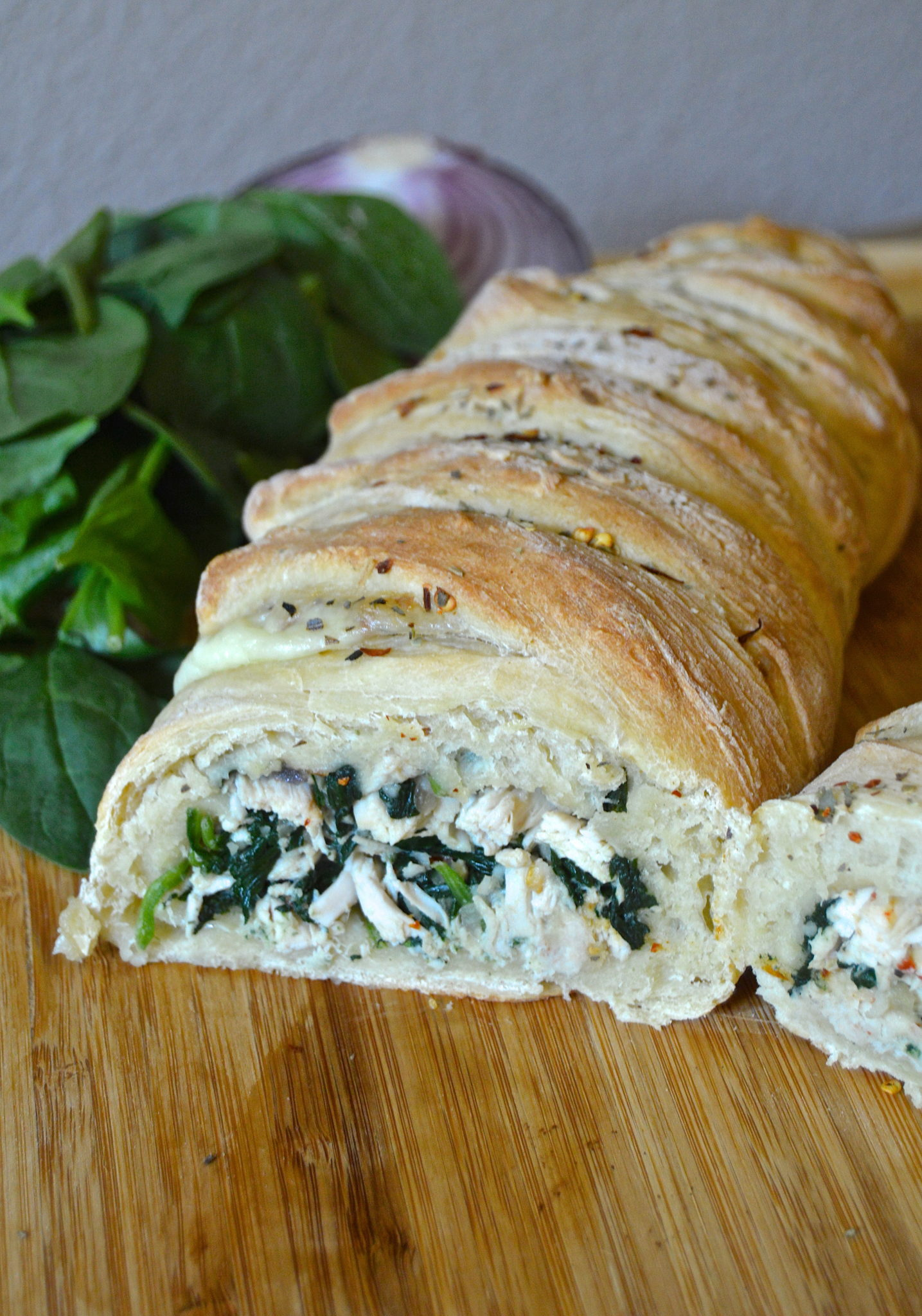 Spinach and Chicken Loaf