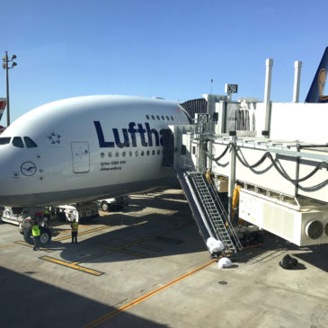 First Long-Haul Flight: Lufthansa Economy