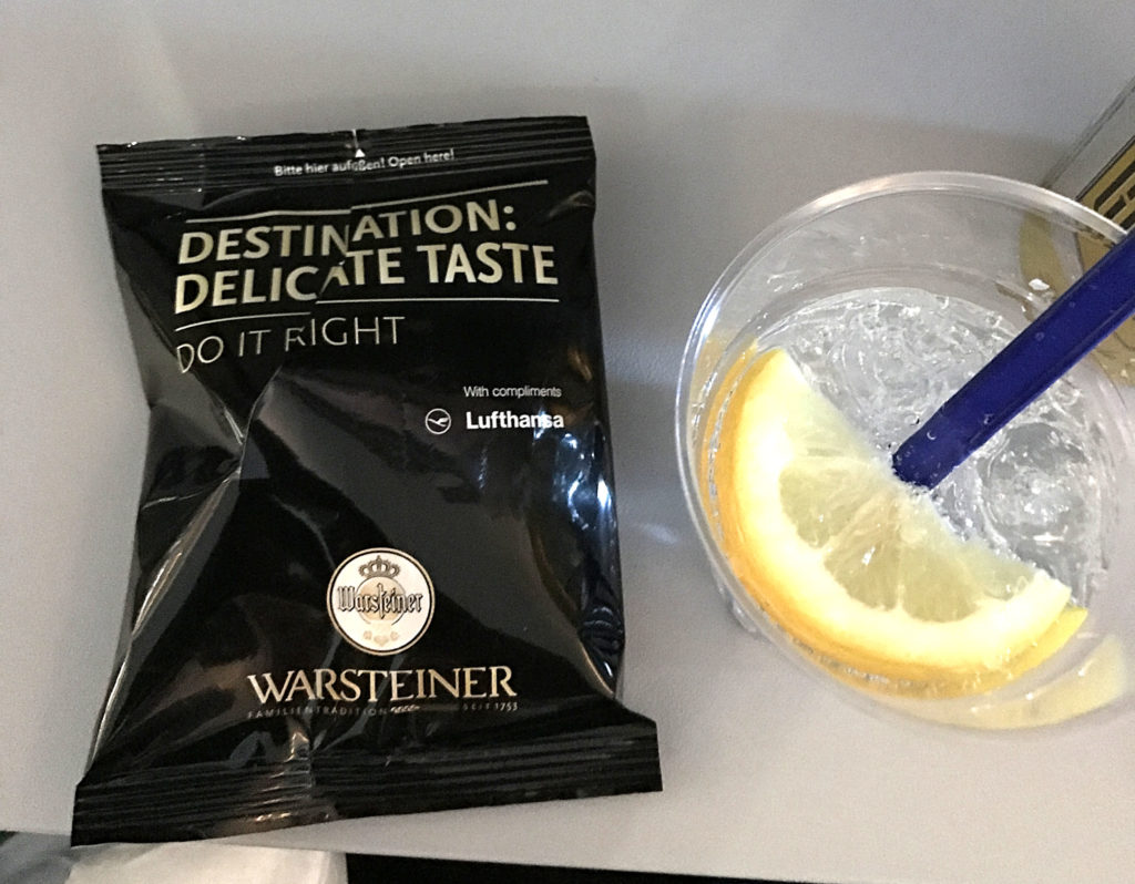 Lufthansa Airlines Snack