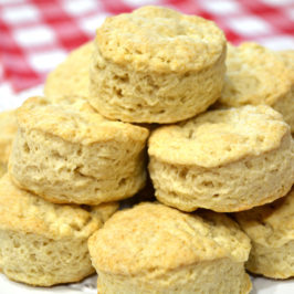 Biscuit Recipe for Old-Fashioned Fluffy Biscuits