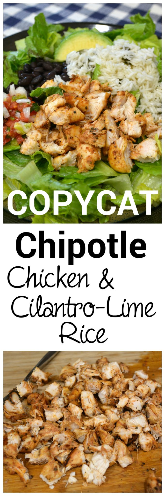 This is the absolute best recipe to use if you want to make a salad bowl exactly like Chipotle.