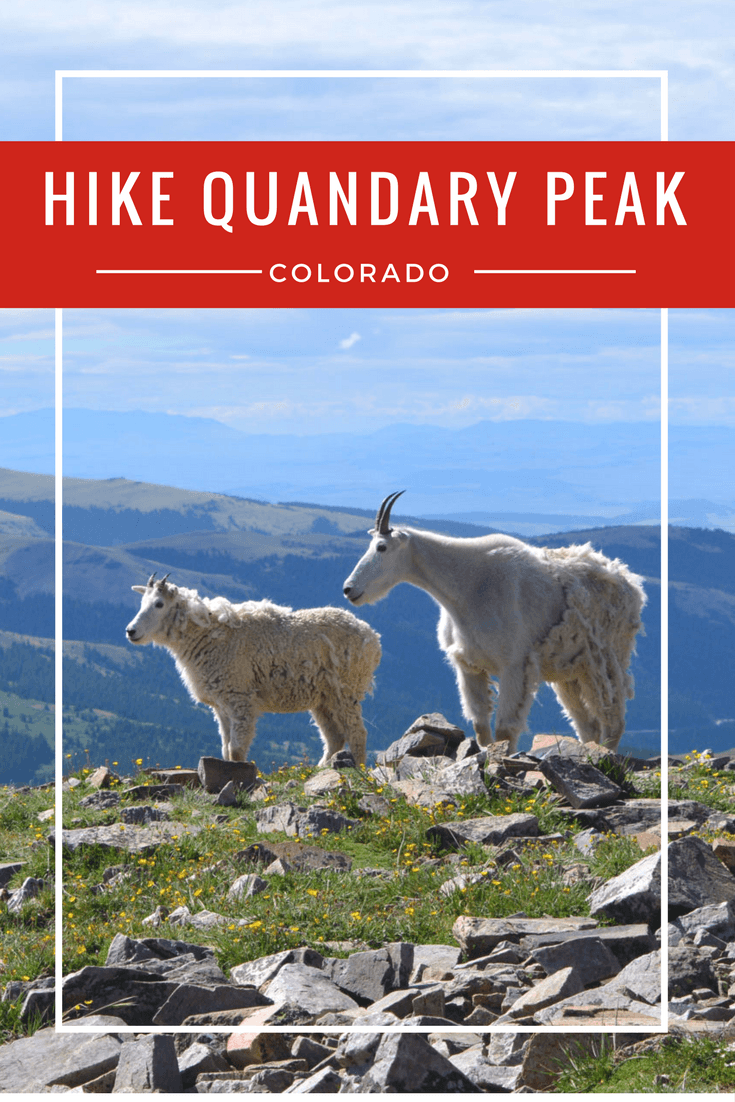 Hiking to the summit of one of Colorado's most popular 14ers