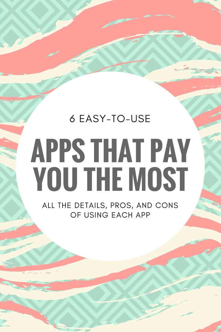 I make an extra $1,400+ per year with these easy-to-use apps. Keep reading for details on each one as well as some pros and cons of using these apps.