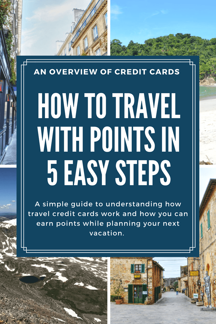 We've listed out the 5 steps that we use when acquiring travel rewards, including important details about how to earn points strategically for your next trip.