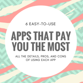 Many of these apps won't take up a lot of your time, and you may find yourself earning money almost immediately.