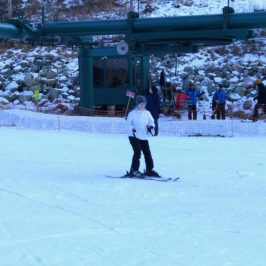 Beginner Ski Lesson at Taos Ski Valley