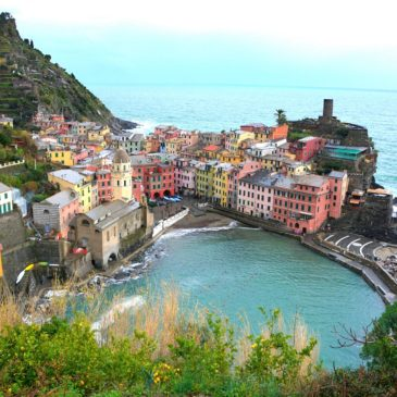 Footpath Monterosso to Vernazza, Cinque Terre in the Low Season
