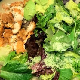 All you need is your food processor and a few ingredients, and you'll have a tasty dressing that works for a variety of salads and can function as a vegetable dip.